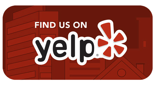 Find us and read reviews on Yelp!